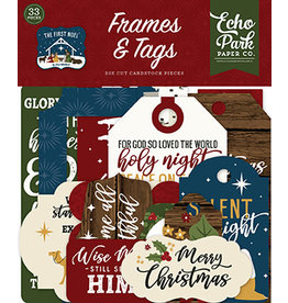 Echo Park The First Noel:  Frames & Tags