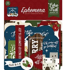 Echo Park The First Noel:  Ephemera