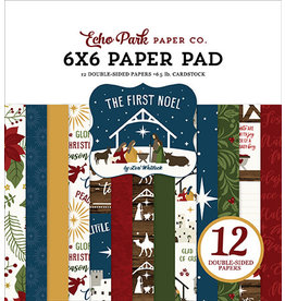 Echo Park The First Noel:  6x6 Paper Pad