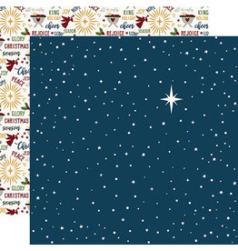 Echo Park The First Noel Paper:  Starry Night