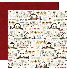 Echo Park The First Noel Paper:  Joy To The World