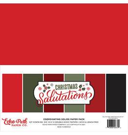 Echo Park Salutations Christmas:  Solids Kit