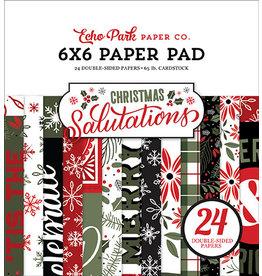 Echo Park Salutations Christmas:  6x6 Paper Pad