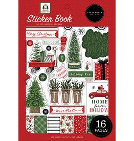 Carta Bella Home For Christmas:  Sticker Book