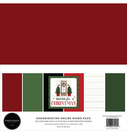 Carta Bella Home For Christmas:  Solids Kit