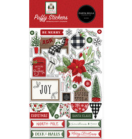Carta Bella Home For Christmas:  Puffy Stickers
