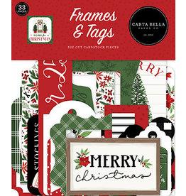 Carta Bella Home For Christmas:  Frames & Tags