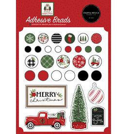 Carta Bella Home For Christmas:  Adhesive Brads