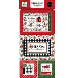 Carta Bella Home For Christmas:  6x13 Chipboard Frames