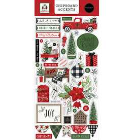 Carta Bella Home For Christmas:  6x13 Chipboard Accents