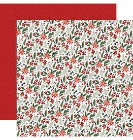 Carta Bella Home For Christmas Paper: Christmas Farm Floral