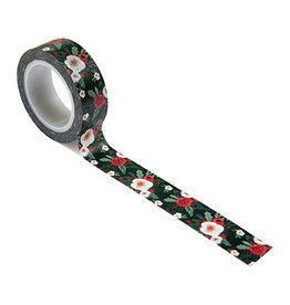 Carta Bella Happy Christmas: Washi Tape -Cozy Floral