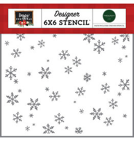 Carta Bella Happy Christmas: Tis The Season Stencil
