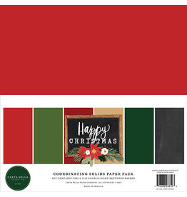 Carta Bella Happy Christmas: Solids Kit