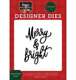 Carta Bella Happy Christmas: Merry & Bright Die Set