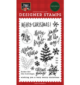 Carta Bella Happy Christmas: Jingle All The Way Stamp Set