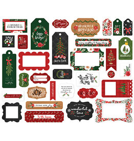 Carta Bella Happy Christmas:  Frames & Tags