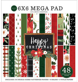 Carta Bella Happy Christmas:  Cardmakers 6X6 Mega Pad