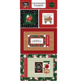 Carta Bella Happy Christmas:  6x13 Chipboard Frames