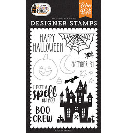 Echo Park Halloween Magic: Spell On You Stamp Set