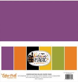 Echo Park Halloween Magic: Solids Kit