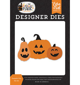 Echo Park Halloween Magic: Pumpkin Trio Die Set