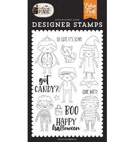 Echo Park Halloween Magic: Got Candy Stamp Set