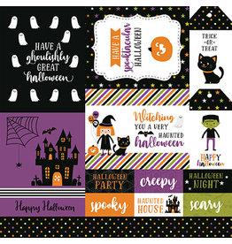 Echo Park Halloween Magic Paper: Multi Journaling Cards