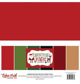 Echo Park Christmas Magic: Solids Kit