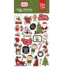 Echo Park Christmas Magic: Puffy Stickers