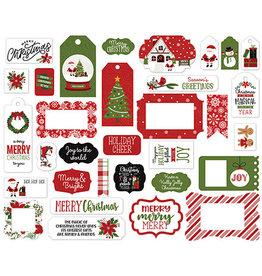 Echo Park Christmas Magic: Frames & Tags