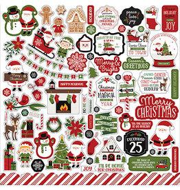 Echo Park Christmas Magic: Element Sticker
