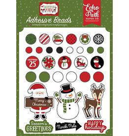 Echo Park Christmas Magic: Adhesive Brads