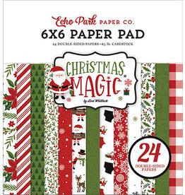Echo Park Christmas Magic: 6x6 Paper Pad