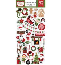 Echo Park Christmas Magic: 6x13 Chipboard Accents