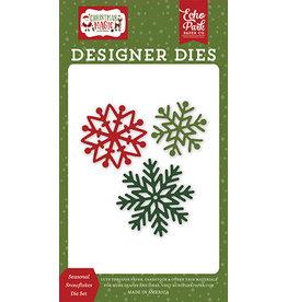 Echo Park Christmas Magic :Seasonal Snowflakes Die Set
