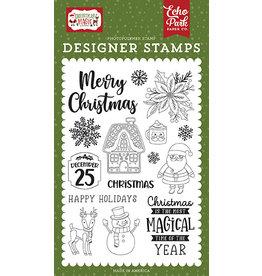 Echo Park Christmas Magic :Magical Christmas Stamp Set