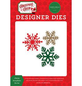 Carta Bella Christmas Cheer: Cheery Snowflakes Die Set