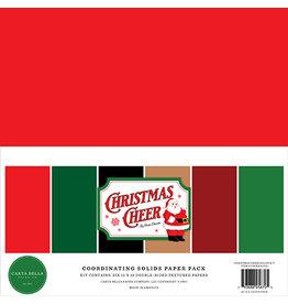 Carta Bella Christmas Cheer:  Solids Kit