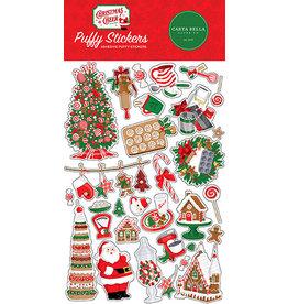 Carta Bella Christmas Cheer:  Puffy Stickers