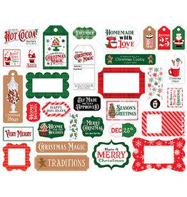 Carta Bella Christmas Cheer:  Frames & Tags
