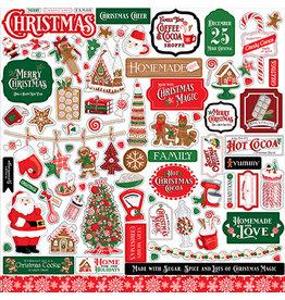 Carta Bella Christmas Cheer:  Element Sticker