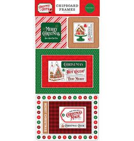 Carta Bella Christmas Cheer:  6x13 Chipboard Frames