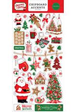 Carta Bella Christmas Cheer:  6x13 Chipboard Accents
