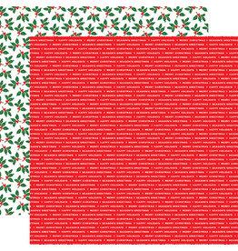 Carta Bella Christmas Cheer Paper: Season's Greetings
