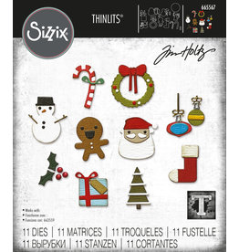 Tim Holtz Christmas Minis Die