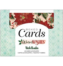 american crafts Warm Wishes Boxed Cards
