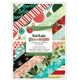 american crafts Warm Wishes 6x8 Paper pad