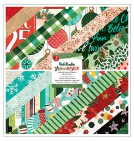 american crafts Warm Wishes 12x12 paper pad