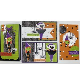 Nikki Sher 10/10/21 Stretch Your Stencil Halloween Cards w/Nikki
